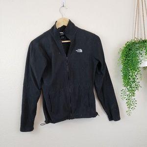 The North Face Black Fleece Zip Up